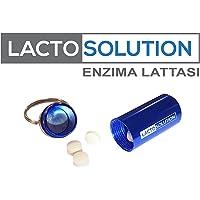 Lactosolution 15000 FCC 15 compresse con portapillole, il miglior integratore di lattasi per intolleranti al lattosio