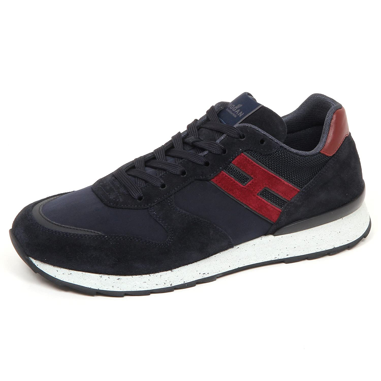 Hogan E4338 Sneaker Uomo Blu R261 Scarpe Shoe Man 10|Blu