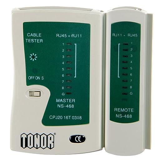 35 opinioni per Tonor Tester Lan Network Ethernet Cavo di Rete LED Multifunzionale RJ45 RJ11