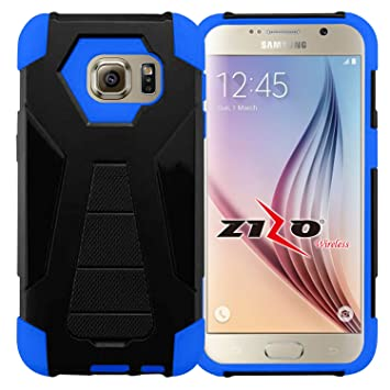 Zizo Hybrid Turbo Cover For Samsung Galaxy S7 Edge Heavy Duty Dual Layer Rugged Shell Phone Protective Case w/ Kickstand: Amazon.es: Electrónica
