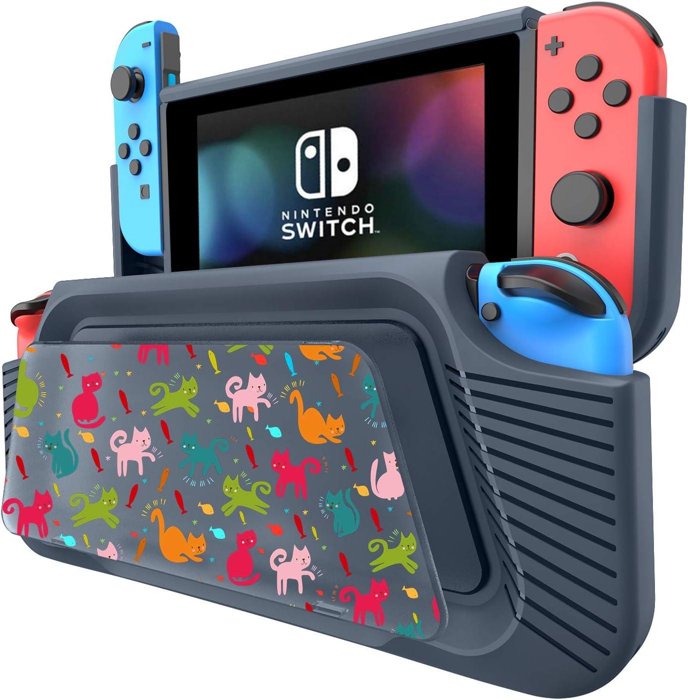 COODIO Funda Para Nintendo Switch, Funda Grip Deluxe Switch ...