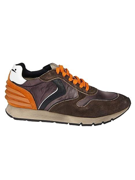 VOILE BLANCHE Sneakers Uomo 0012012774029116 Camoscio Marrone  Amazon.it  Scarpe  e borse 8ada90c93d8