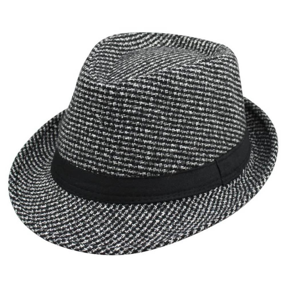 cappello della molla/Cappelli uomo/ cappello caldo di inverno/Britannico cappello di jazz autunno e l'inverno negli anziani/Cappelli maschile 82ckuigv-AOne Size