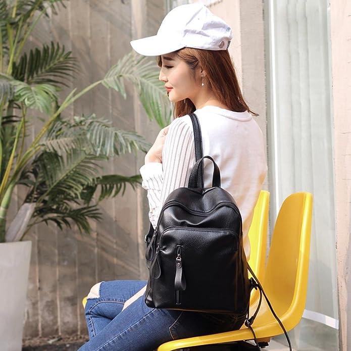 c2bfd564bf439 LILICAT Damen Travel Rucksack Mädchen Schultaschen Leisure Backpack Student  School Bag Weiche Frauen Tasche Shopper (Size A