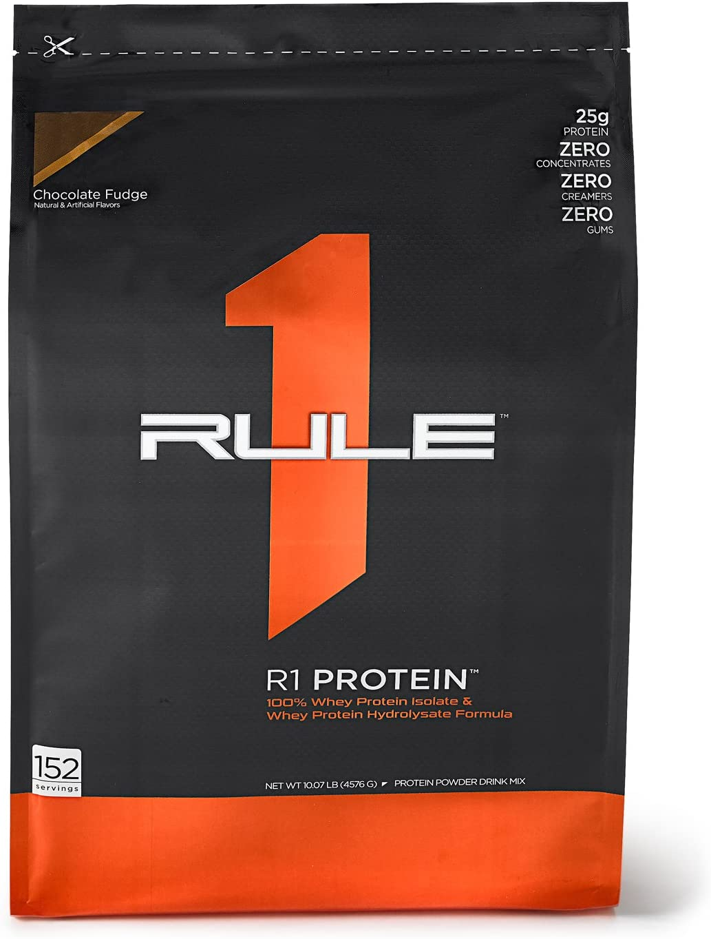R1 Protein Whey Isolate Hydrolysate, Rule 1 Proteins 152 Servings, Chocolate Fudge