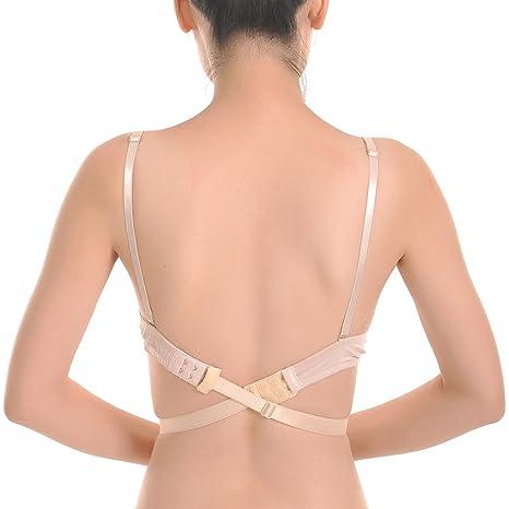 Closecret Women s Adjustable Low Back Bra Converter Straps 2 Hooks(Pack of 3)   Amazon.ca  Luggage   Bags 2d20a60d4