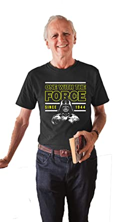 One With The Force 75th Birthday T Shirt 1944 Party Outfit Gift For 75 Year