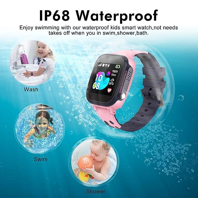Amazon.com: Reloj inteligente para niños, SZBXD, resistente ...