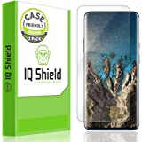 IQ Shield Screen Protector Compatible with OnePlus 7 Pro (2-Pack)(Case Friendly) LiquidSkin Anti-Bubble Clear Film