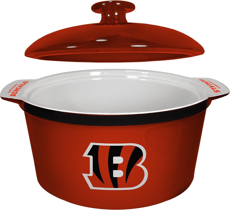 NFL Unisex NFL Game Time Oven Bowl, 2.4-quarts