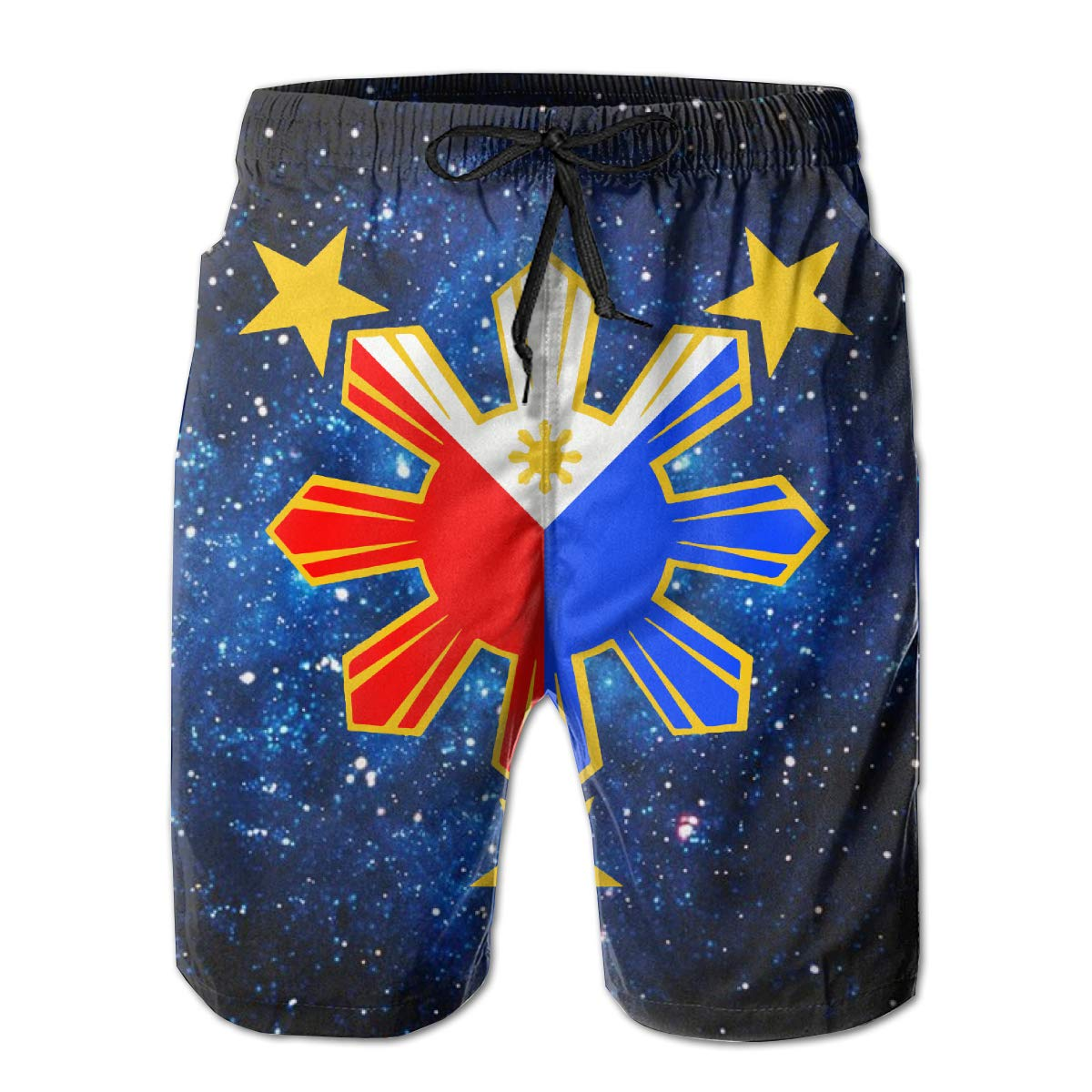 Flag of The Philippines Mens Boardshorts Casual Classic Beachwear