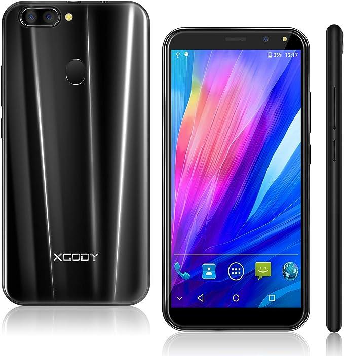 Xgody - Smartphone Libre 3G (HD Android 5.1, Dual SIM, 1 GB de RAM ...