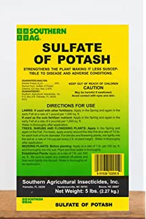 Amazon com: 5 Pounds - Potassium Sulfate - Sulfate of Potash: Garden