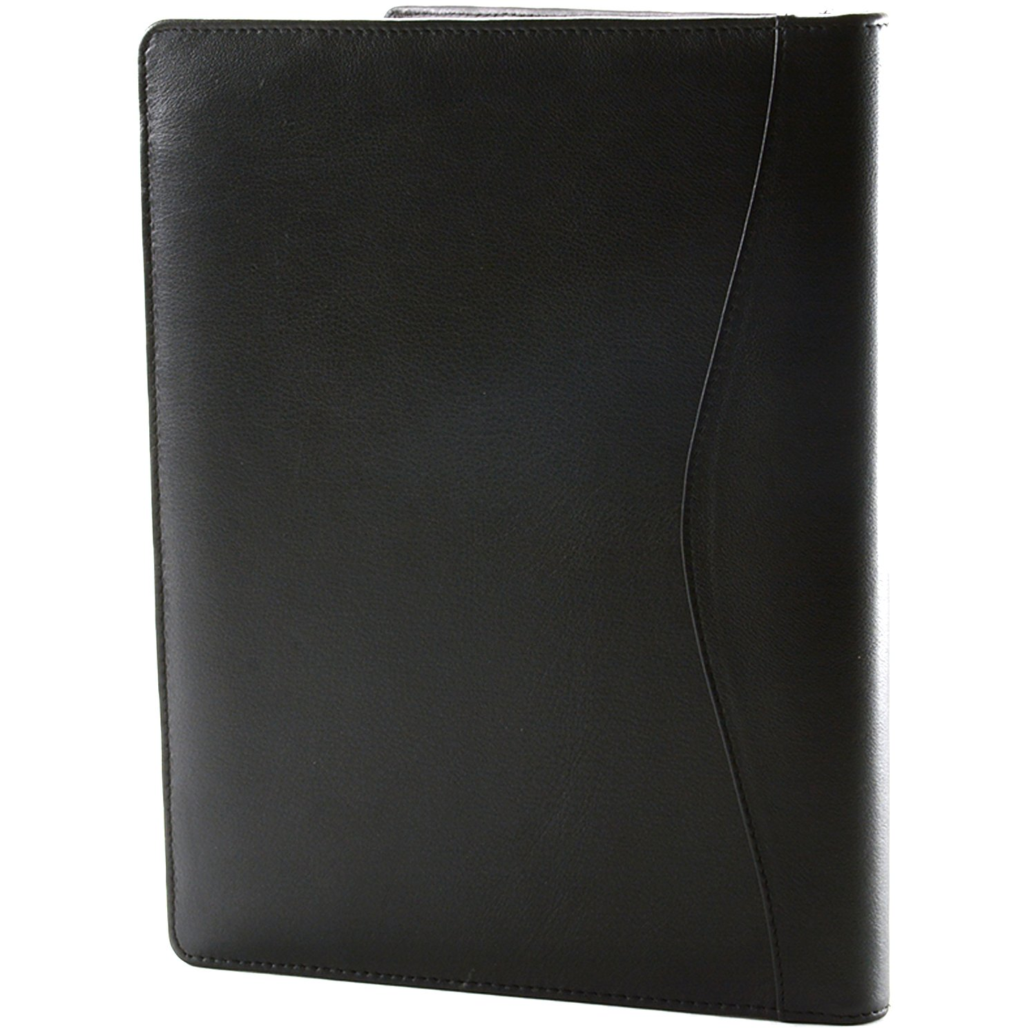 Leather portfolio cases business portfolios folders embossed with - Amazon Com Alpine Swiss Leather Portfolio Writing Pad Presentation Folder Business Case Comes In A Gift Bag Note Pad Can Be Inserted Adjusted Both For