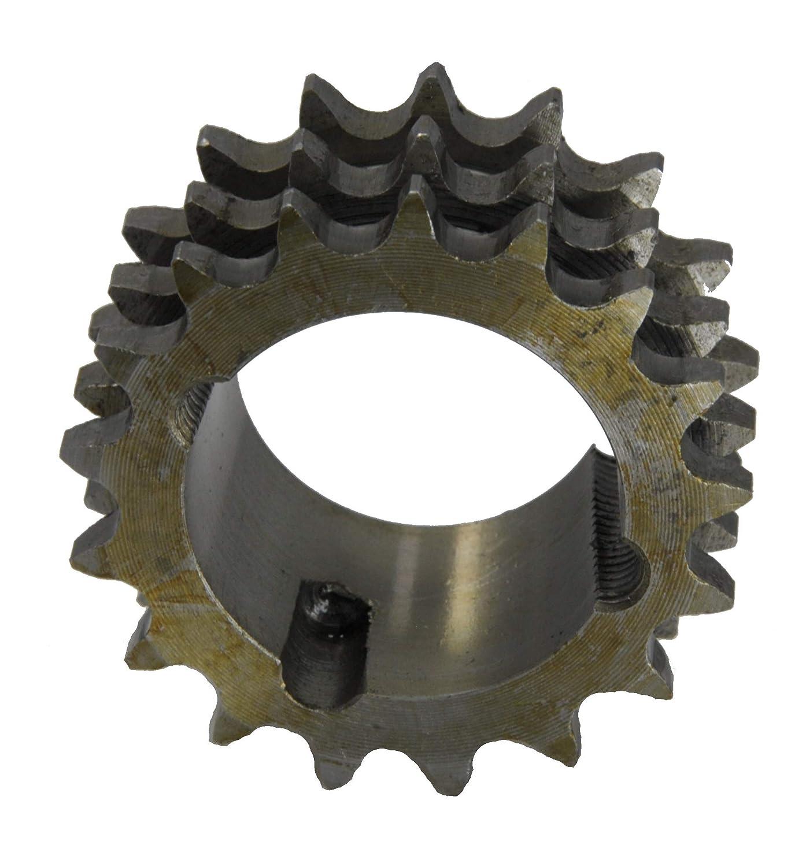 Z/ähne 15 1 Zoll x 17,02 mm Kettenr/äder mit einseitiger Nabe simplex Type 16 B
