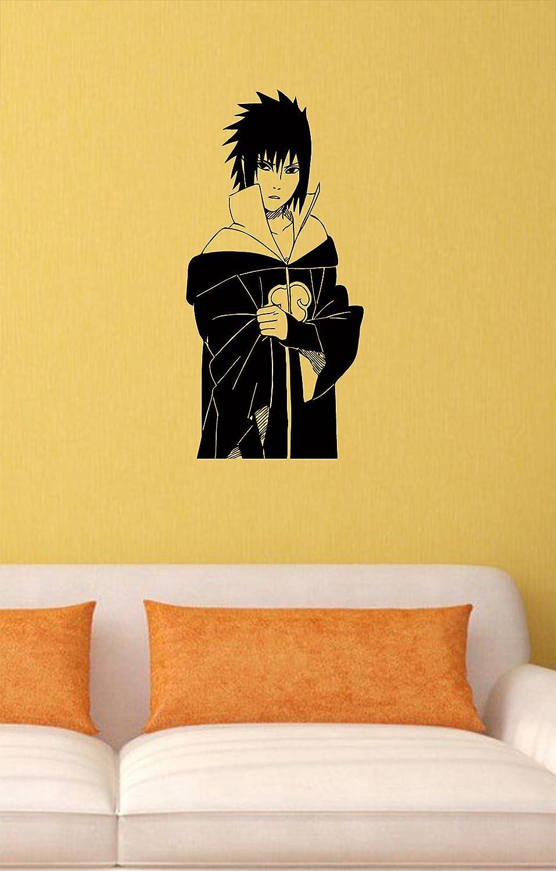 Amazon.com: Uchiha Sasuke Vinyl Wall Decals Ninja Apostate ...