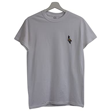 c157a715 Actual Fact Gucci Mane Hip Hop Trap House Embroidered White Hip Hop Tee T- Shirt (Small-XXL): Amazon.co.uk: Clothing