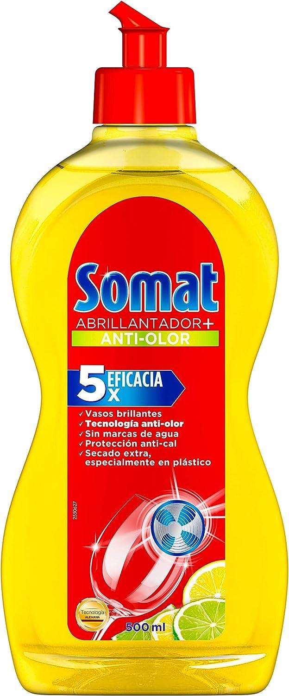 Somat Abrillantador Lavavajillas Limón 500ml