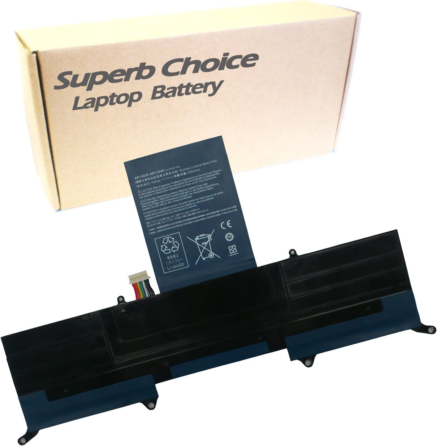 Superb Choice Battery Compatible with Acer Aspire S3 MS2346