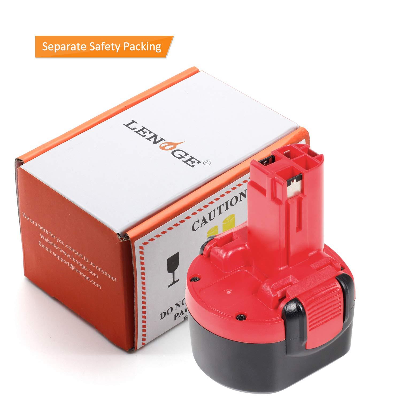 LENOGE 18V 3.0Ah Ni-Mh Baterias de Herramienta El/éctrica Repuesto Bater/ía para Dewalt DC9096 DE9039 DE9095 DE9096 DE9503 DW9095 DW9096 DW9098 Garant/ía de 18 Meses