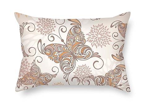 PaPaver fundas de almohada de mariposa para silla de ...