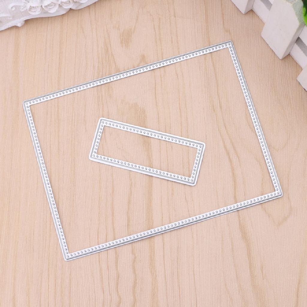 Scrapbook Embossing Card DIY Handwerk Dekoration Rahmen f/ür Stanzschablonen Ranuw Stanzschablonen