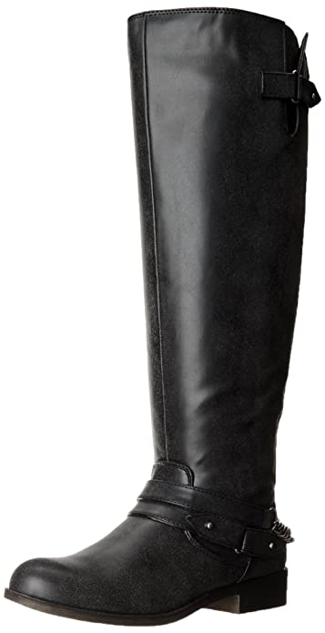 0ec7d6843fed madden girl Canyon Wide Calf Riding Boots