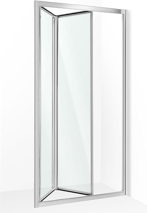 nischenabtrennung nichos, Puerta, Puerta oscilante para ducha puerta Mampara de 100 cm: Amazon.es: Bricolaje y herramientas