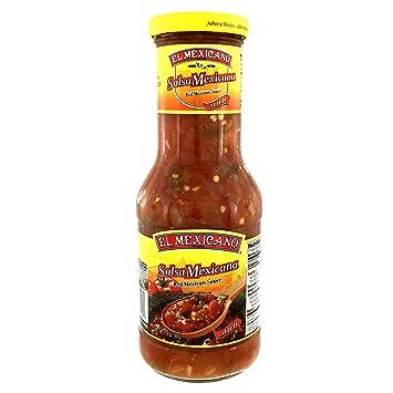 El Mexicano Salsa Mexicana 17.6 oz