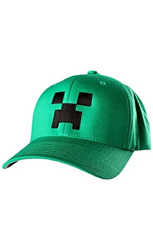 Boys Minecraft Baseball Hat Age 4 to 10 Years 100% Polyester