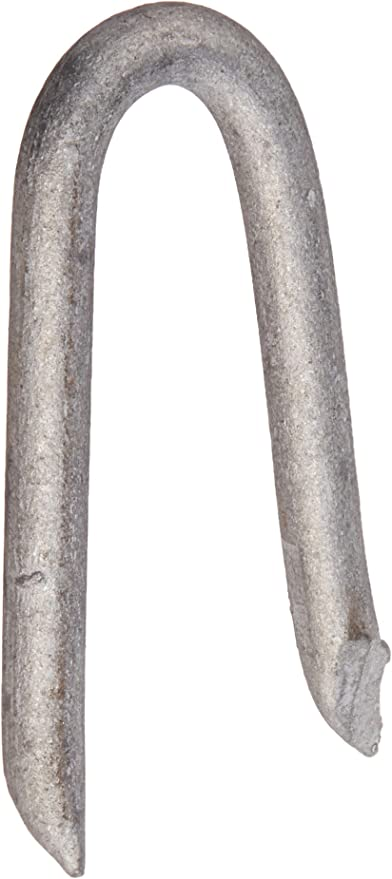 2 Pack 1//2-Inch The Hillman Group 122662 Galvanized Double Point Staples Number 11