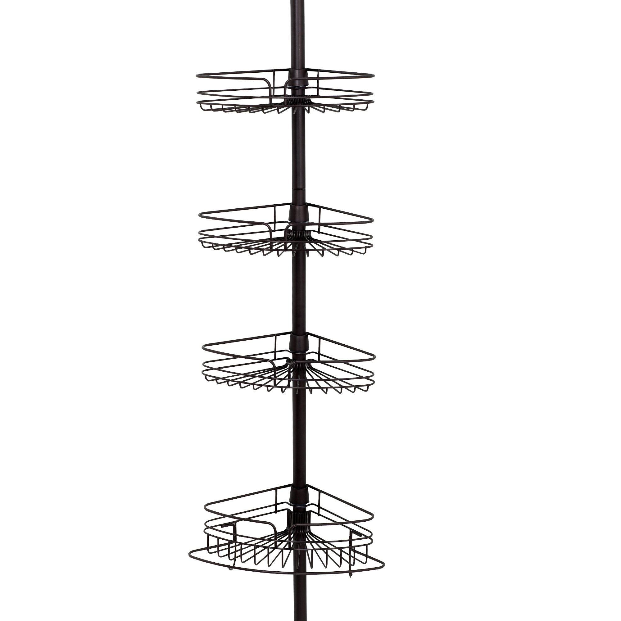 Zenith Products Tub and Shower Tension Pole Caddy