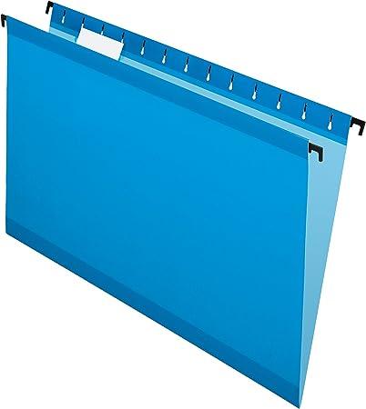 6153/1//5/blu Legal size Pendaflex Surehook reinforced Hanging file Folders Blue 20/per box
