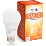 "NorbSMILE Full-Spectrum ""Sunlike"" Premium A19 LED Light Bulb. Boosts Energy, Mood & Performance. Fights SAD/Supports…"
