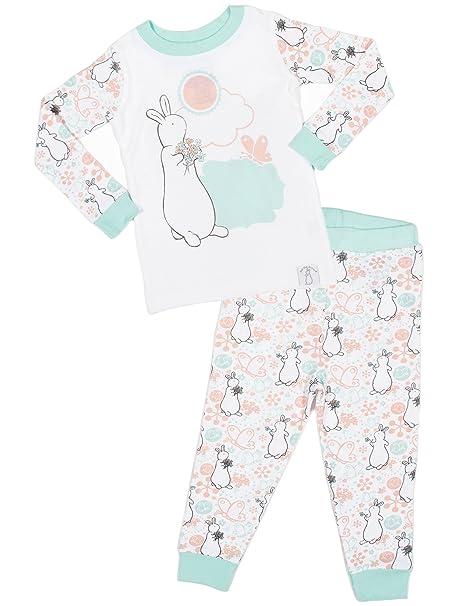 2e6fcd9babf2 Amazon.com  Pat The Bunny  Daisy  Cotton Pajama Set  Clothing