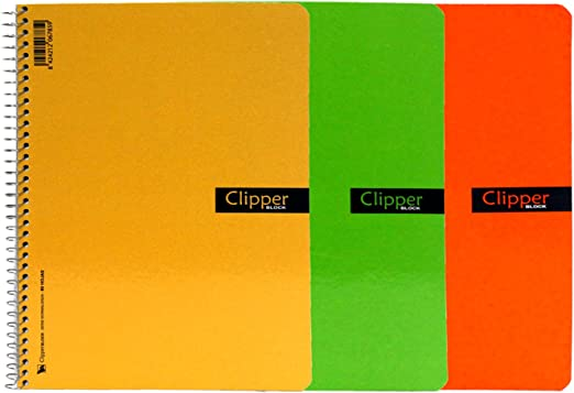 Acan Pack de 3 Cuadernos Doble pauta 4º en Colores Surtidos ...