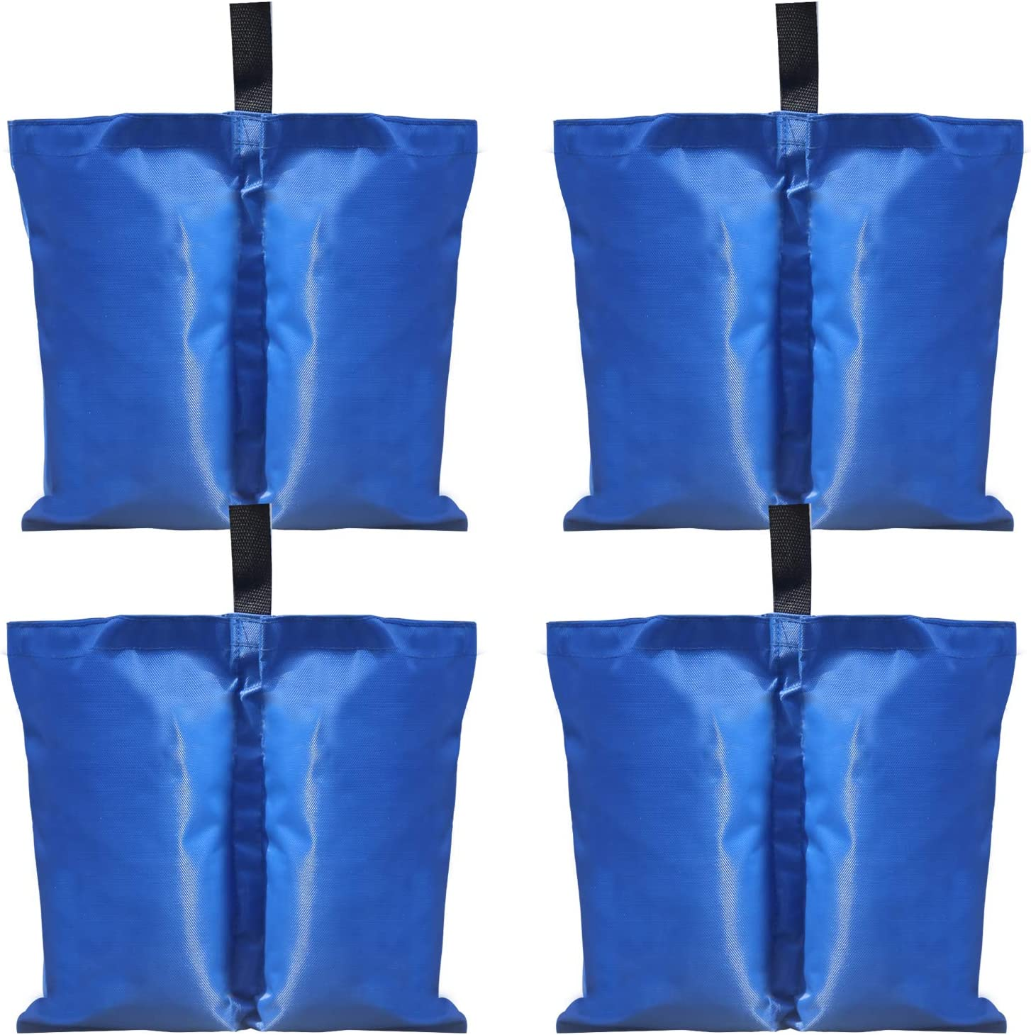 ABCCANOPY Industrial Grade Weights Bag Leg Weights for Pop up Canopy Tent 4pcs-Pack Blue-4pcs