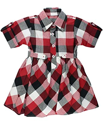 Amazon Com Rufflebutts Baby Toddler Girls Short Sleeve Red And