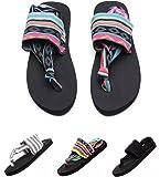 Donppa Womens Flat Sandals Flip Flops Yoga Sling
