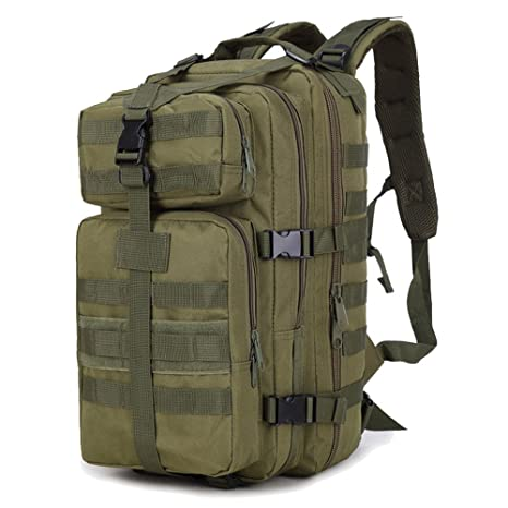 0616324ec3d7 Sopear 35L Large Capacity Outdoor Expandable Military Tactical Backpack  Waterproof Travel Hiking Camping Trekking Climbing Hunting
