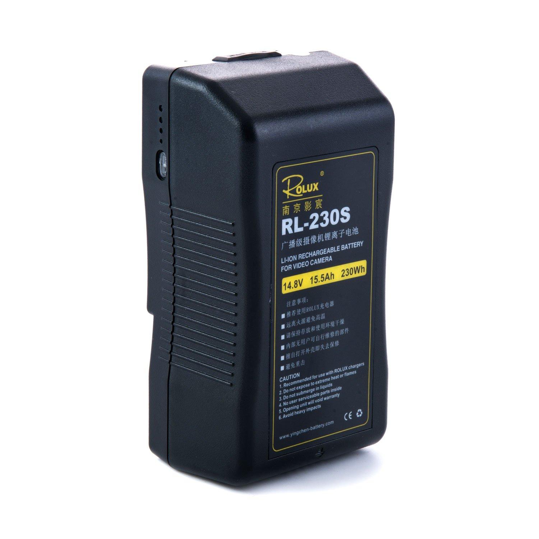 ROLUX RL-230S V-Mount Battery 230WH (Black)