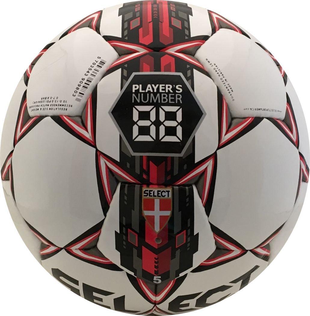 Select Numero 10 - Balón de fútbol, Color Blanco y Rojo, tamaño 5 ...