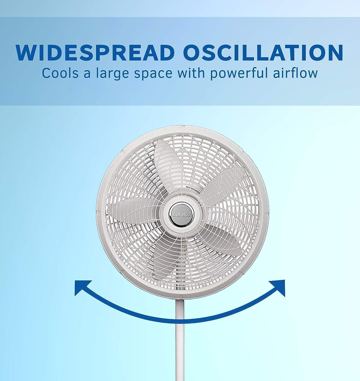 Lasko Products 1820 18 Adjustable Pedestal Fan