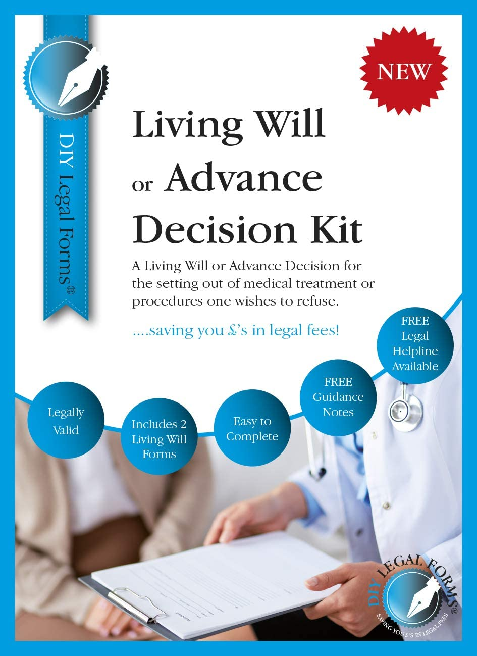 All you need. last Will and Testament  AND Living Will //Advance Decision Pack