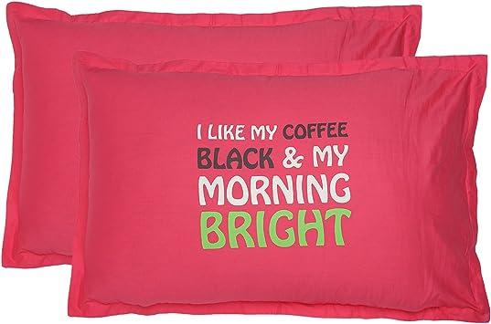 Shaliindia Rose Pink Pillowcase 18x28