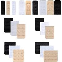 Closecret Women's Nylon Bra Extender Multi-Size Brassiere Strap Extension