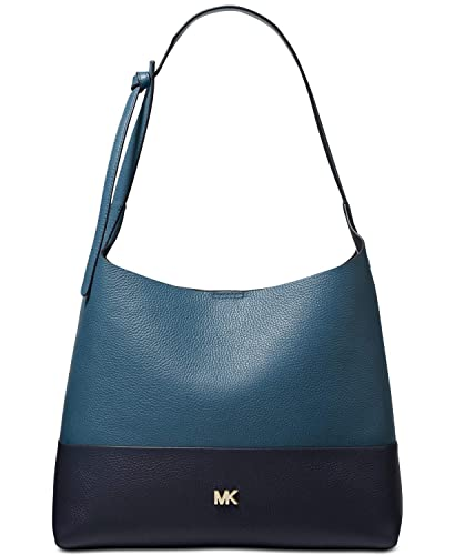 Michael Kors Junie Bicolor Pebble Lederhobo: