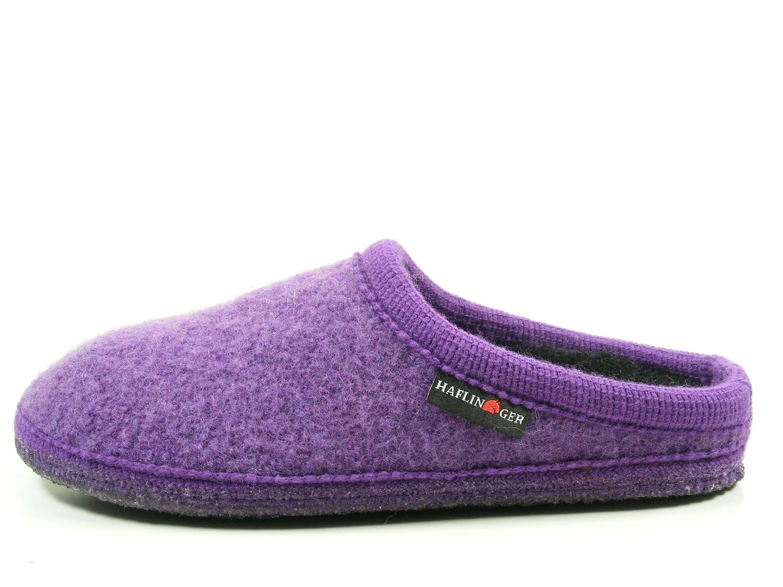 Haflinger 611086 Walktoffel uni Pantofole unisex adulto Violett