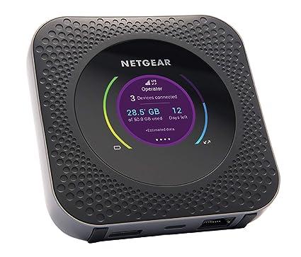 Wlan Router Sim Karte.Netgear Nighthawk M1 Mobiler Wlan Router 4g Lte Router Mr1100 Bis Zu 1 Gbit S Download Geschwindigkeit Hotspot Fur Bis Zu 20 Gerate Wlan Uberall