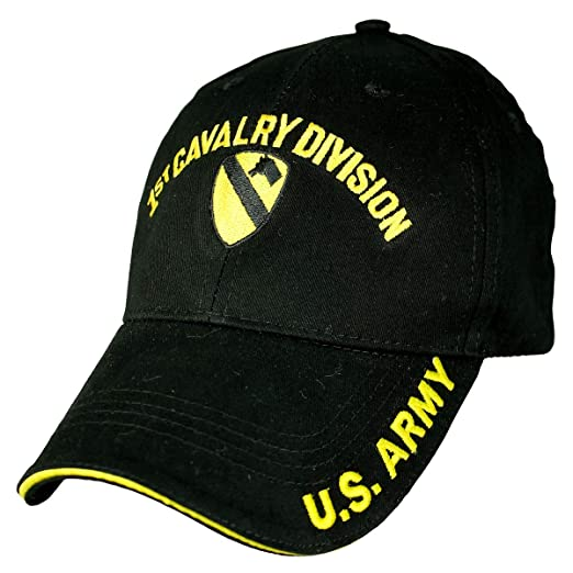 adbb8e8c1d9 Image Unavailable. Image not available for. Color  Military Productions 1st  Cavalry Division Low Profile Cap
